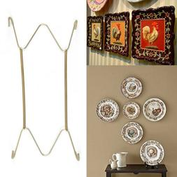 "For Home Decor W Type Hook 8"" to 16""Inchs Wall Display Plate"