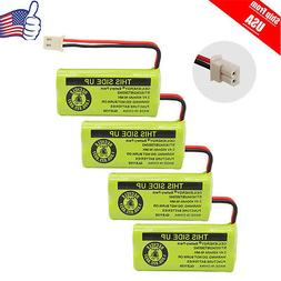 4x Home Phone Battery For AT&T VTech BT166342 BT266342 BT183