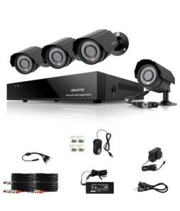 Zmodo Home Security Camera System 4 Channel DVR Recorder