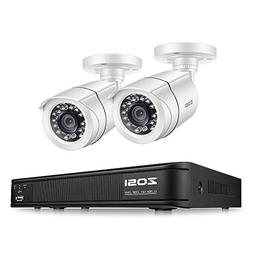 ZOSI 720P 4 Channel Home Surveillance Camera System,1080N Se