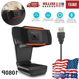 Home Webcam Auto Focusing Camera HD 1080P With Microphone fo