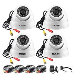 ZOSI 4 Pack 1080P 4-in-1 Security Cameras  Compatible with T