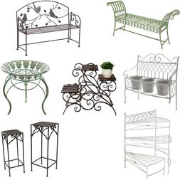 Indoor/Outdoor Special Decorative Metal Plant Stand for Home