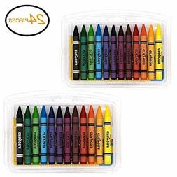 jumbo triangle crayons 12 color for school