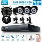1080p 4CH/8CH DVR HD IP Outdoor Wired Security Camera System