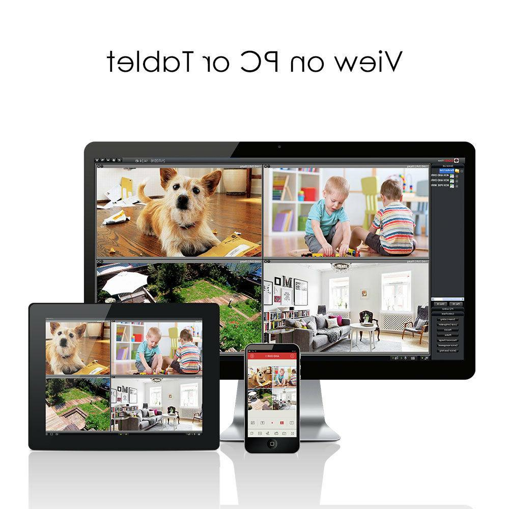 ZOSI 1080P Security Camera 8CH 2MP Outdoor Home
