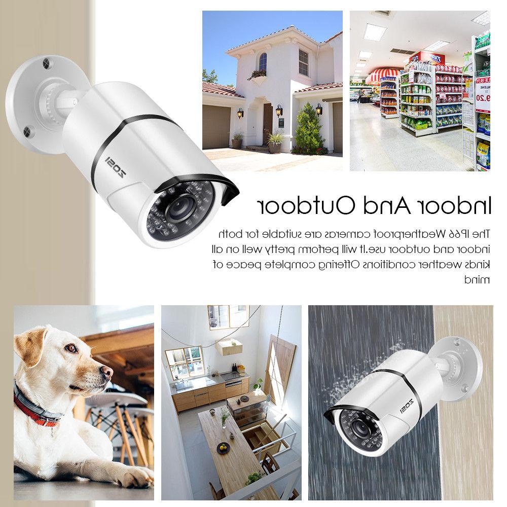 ZOSI 1080P Camera 8CH Outdoor Home Kit 2TB
