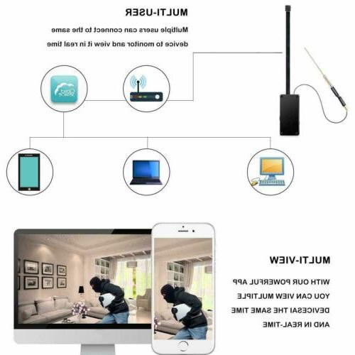 1080P Wireless IP Home Security Micro
