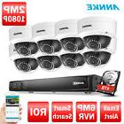 ANNKE 1080P POE 8CH / 4CH DVR 2MP Video CCTV HD Security IP