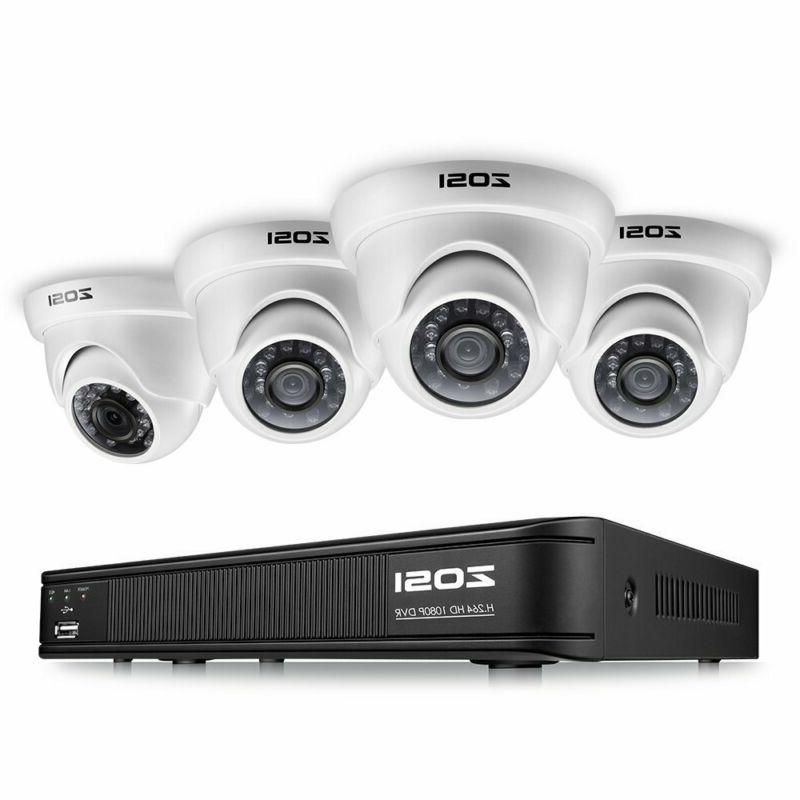 1080p surveillance camera system for home 8