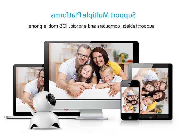 1080P Wireless Wifi Security Infrared Motion Detection For
