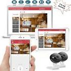 2 Sets Wireless IP Camera WiFi Security System Home 2Way Aud