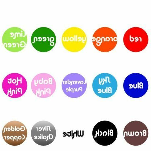 20 Stickers Decal Home Decor Cup