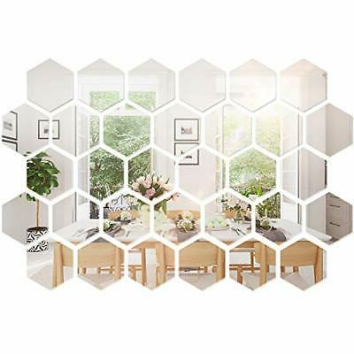 Mirror Setting Wall Sticker Decal For Home Living Room Bedro