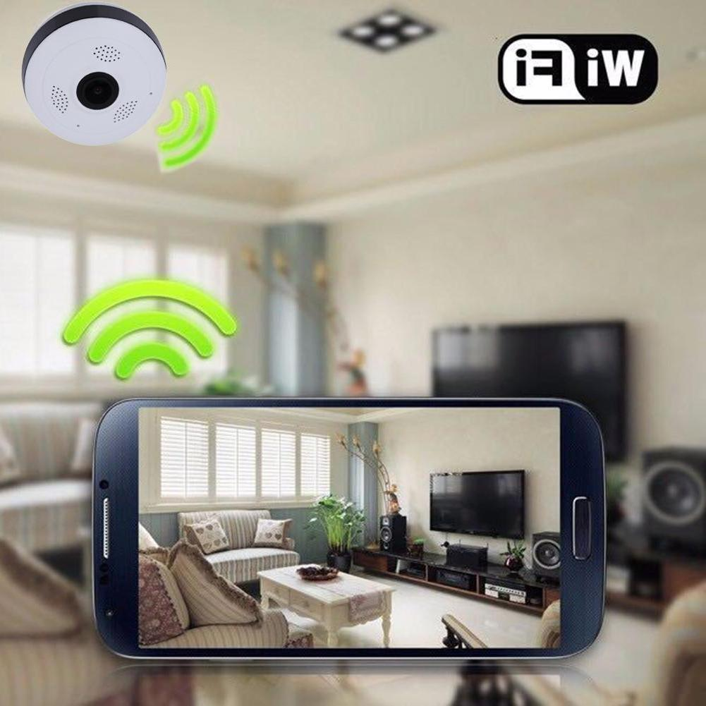 360° View 1080P HD IP Home Security Camera WiFi Monitor for