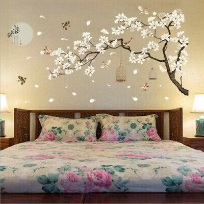 3D Flower Tree Removable Mural Vinyl Decal Wall Sticker Art