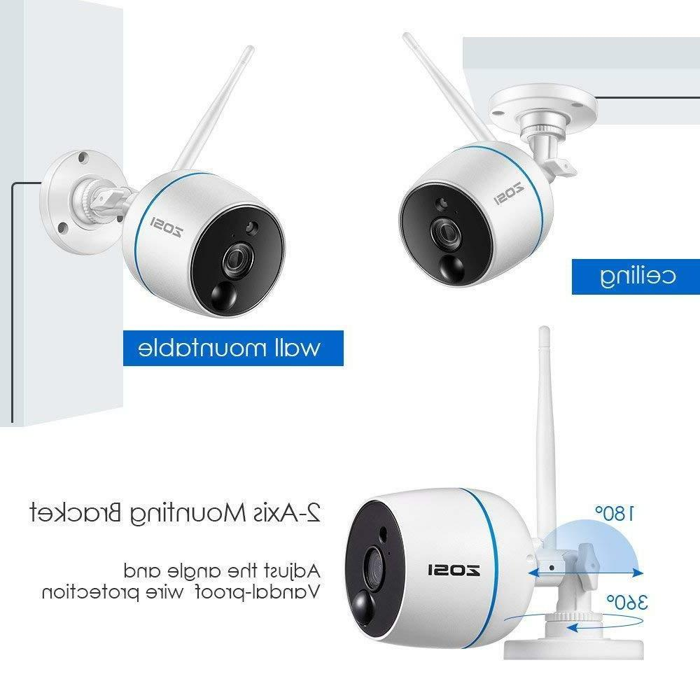 NVR 2 2MP Security System