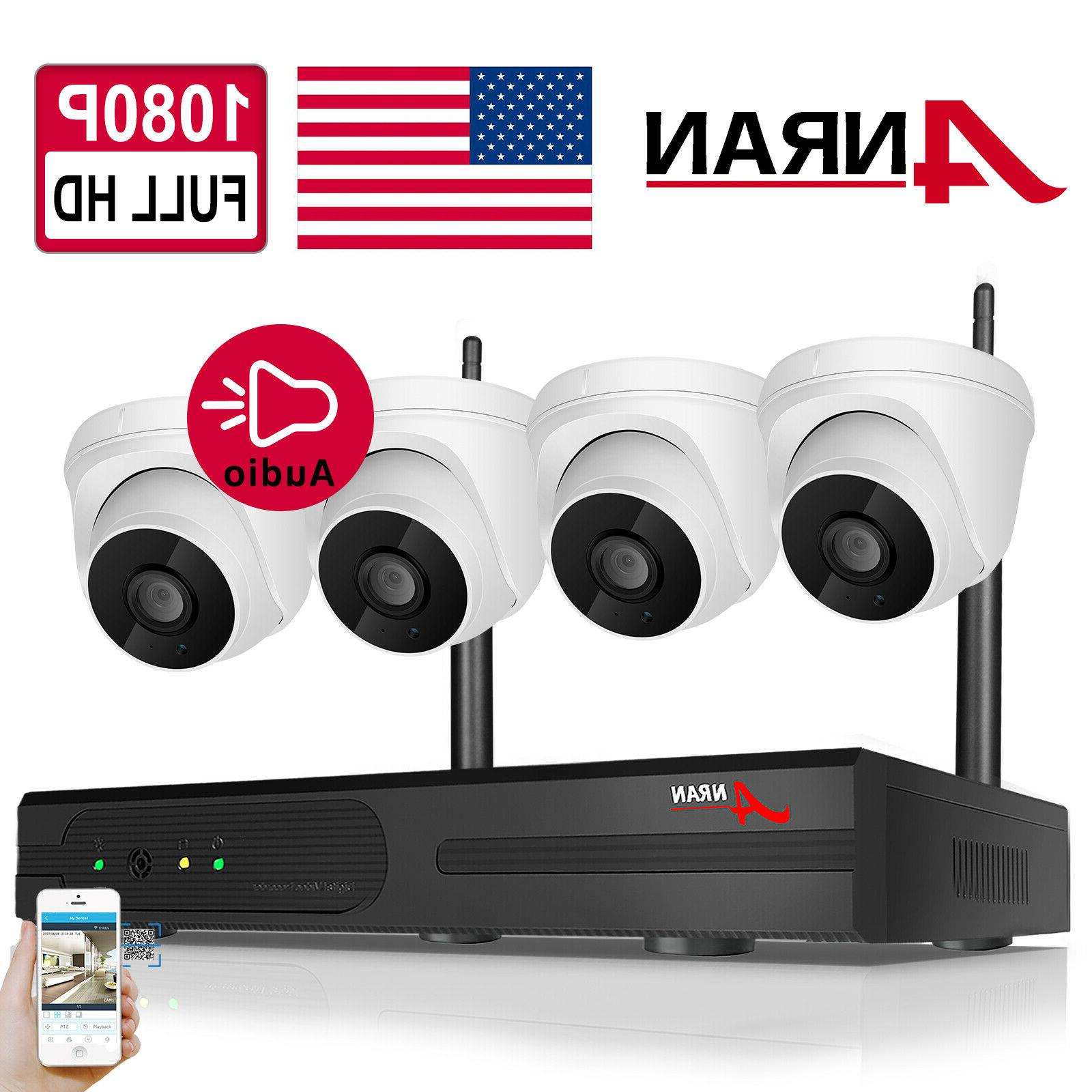 4ch nvr wireless home security