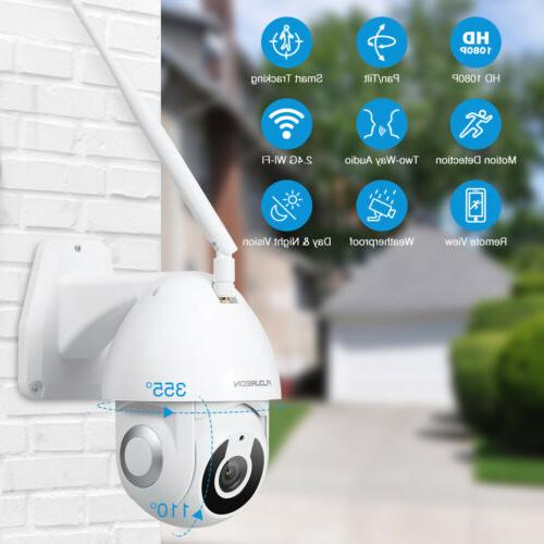 2X FLOUREON WiFi IP Camera Home Night For