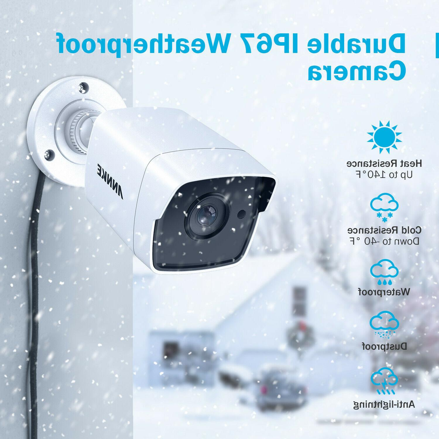 ANNKE 4x 5MP CCTV Camera for Home System