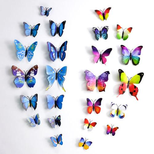 72 3D Decal Butterfly Decals Nursery