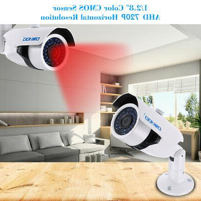 OWSOO 720P CCTV Camera Outdoor Night for R6R5