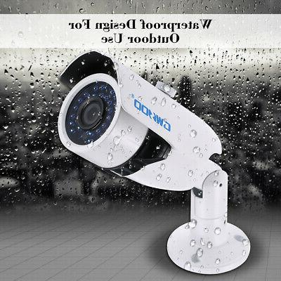OWSOO 720P CCTV Bullet Camera Vision for Home R6R5