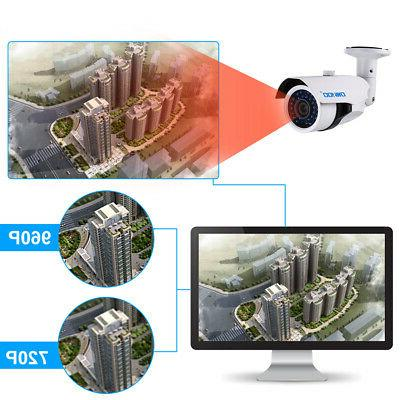 OWSOO Camera Outdoor for Home Security System R6R5