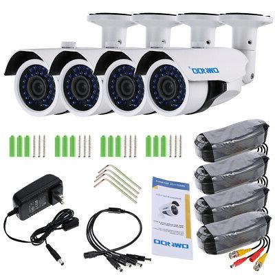 OWSOO Camera Outdoor IR-CUT Night Vision for Home Security Kit