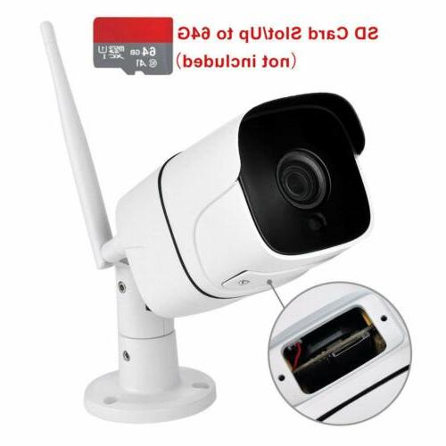 720p ip65 waterproof wireless smart wifi ip