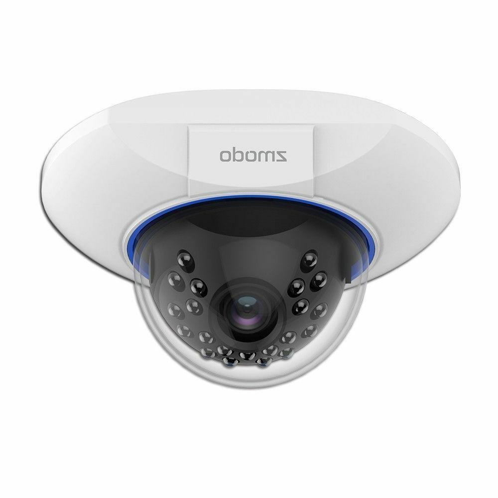 Zmodo 720p sPoE Hd Dome IP Camera ZM-SS76D001-S Male MicroUS