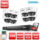 ANNKE 8CH/4CH 6MP NVR POE 2MP 1080P IR Night IP Home Securit