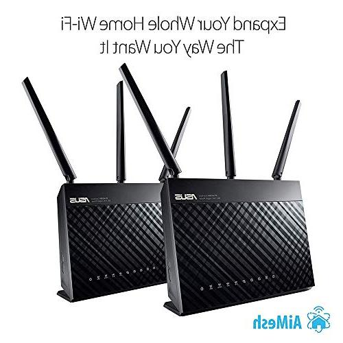 ASUS Whole AiMesh Router Mesh Wifi System - Network Security by Micro, Parental Control