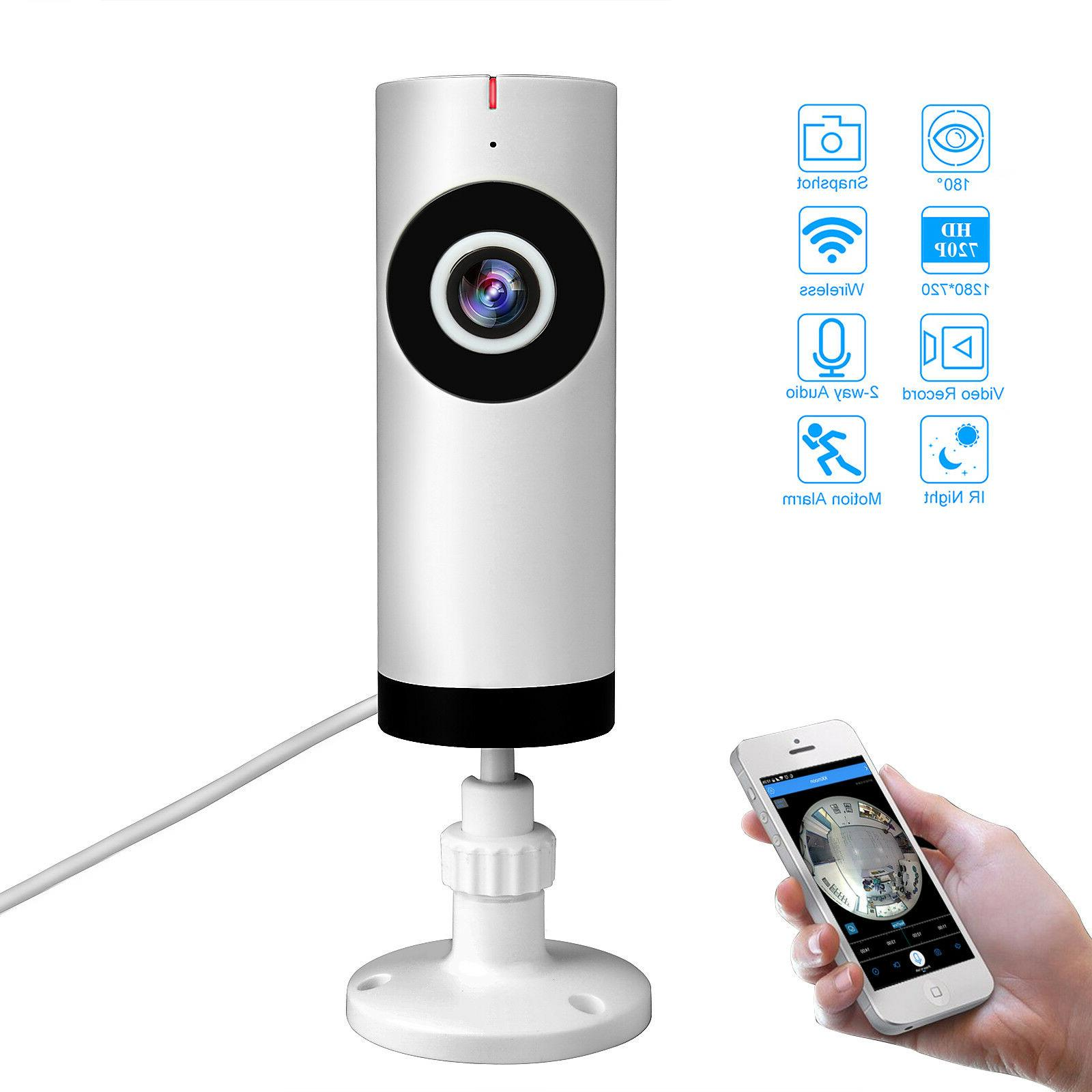 Home Security Cameras WiFi Wireless Speaker Microphone for M