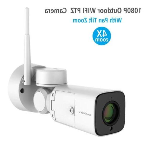 KAANSKY Wireless camera for Home Security Outdoor With HD 10