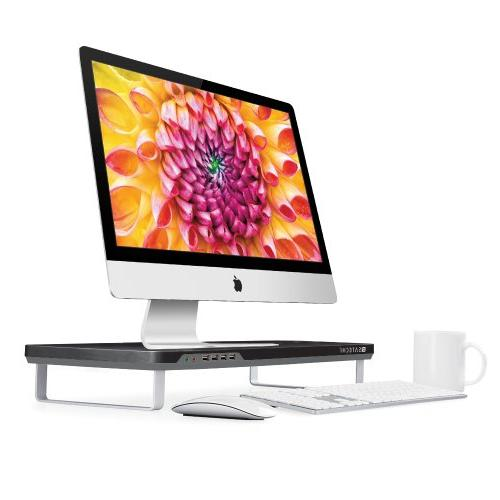 Satechi F1 Smart Monitor Stand with Four USB Ports and Headp