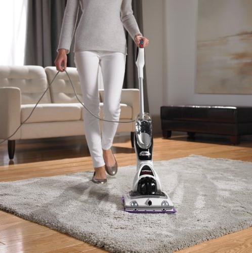 Shark Sonic Duo Carpet And Hard Floor Cleaner White Black