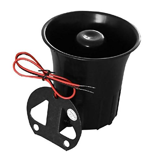 XINFLY Wired Alarm Horn 1-Tone 12V Bracket for System