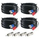 ZOSI 100ft BNC Video Male DC Power Jack Male/Female Extensio