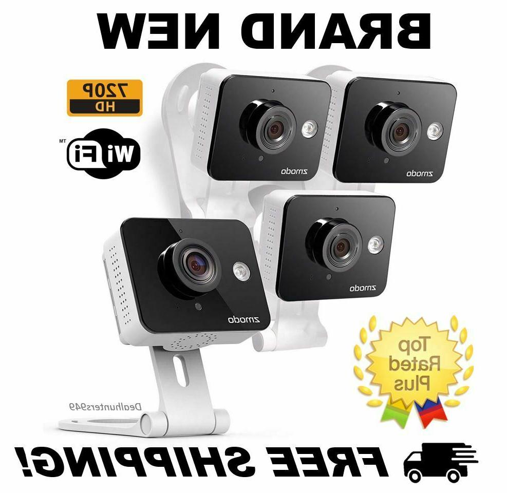 Zmodo New Mini WiFi 720p HD Wireless Indoor Home Video Security Camera Two-Way A