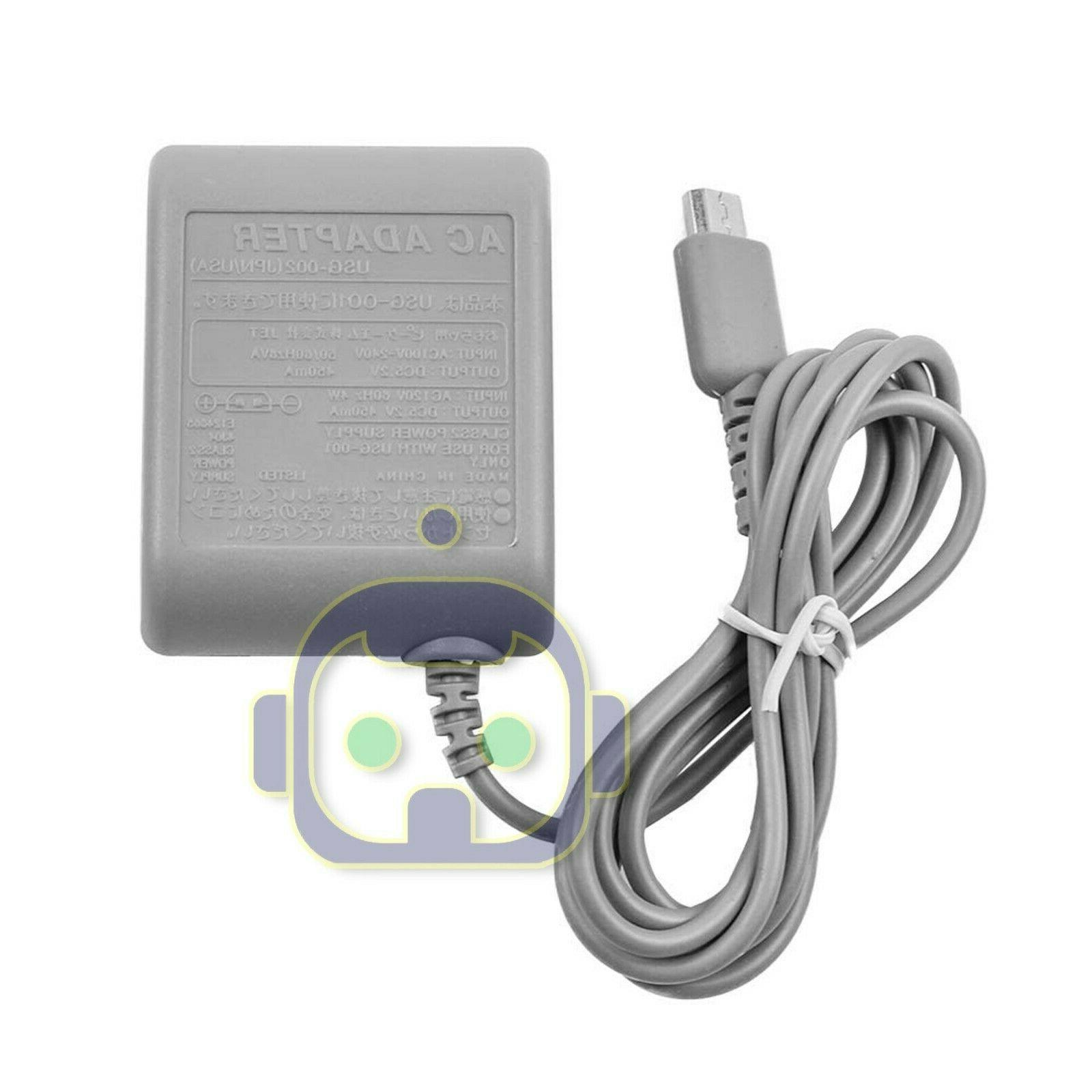 AC Adapter Home Wall Charger Cable Nintendo Ds Lite/ DSL/ NDS lite/