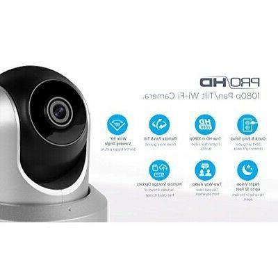 Amcrest WiFi Wireless Security - 1080P ,