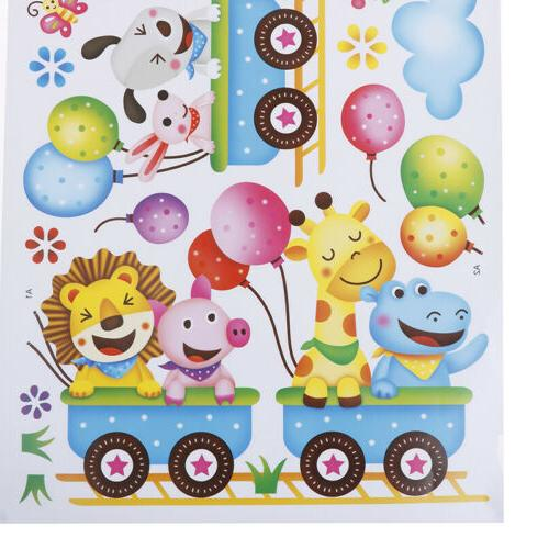Animals Sticker Baby Room Home Mural
