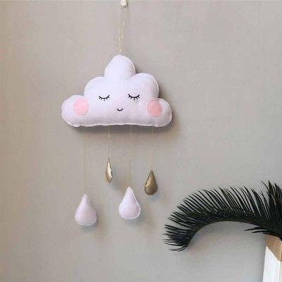 Baby Nursery CLOUD STARS Hanging Decorations Decor GIFT