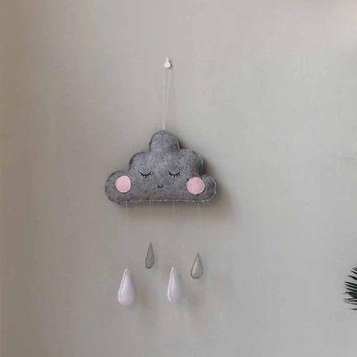 Baby CLOUD STARS Room Decorations Crib GIFT