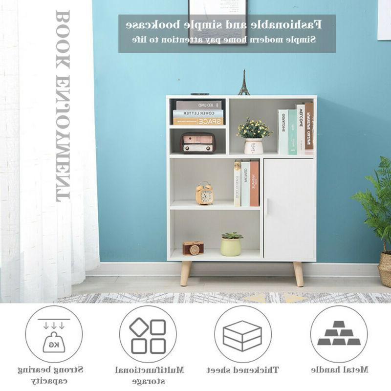 Bookcase Unit Storage Shelving For Home