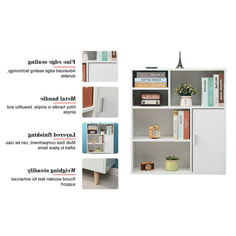 Bookcase Shelving Display Rack For Office