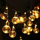 Bulb Shape 6M 20LED String Fairy Light For Party Garden Wedd