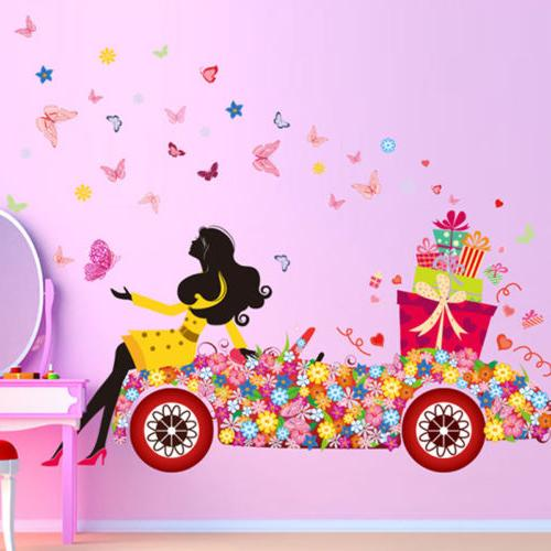 Cute Art Wall Kids Rooms Decals