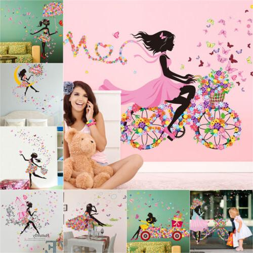 Cute Lovely Art Kids Rooms Decals Home